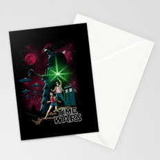 Time Wars Stationery Cards