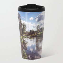 Liwiec River - Landscape and Nature Photography Travel Mug