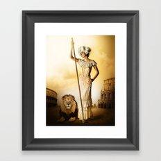 King & Queen Framed Art Print