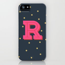 R is for Rad iPhone Case