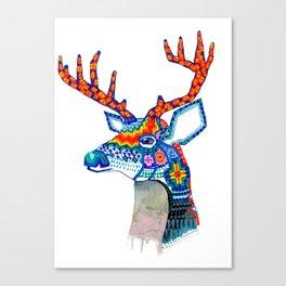 Venado Huichol Canvas Print