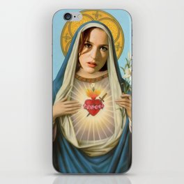 Saint Scully iPhone Skin
