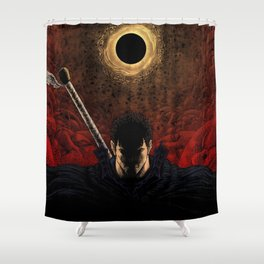 Berserk Demon World Shower Curtain