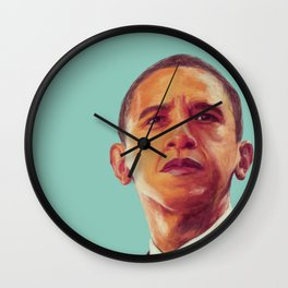 President Obama Wall Clock