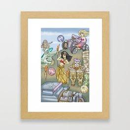 hulababy Framed Art Print