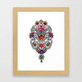 Rangoli Framed Art Print