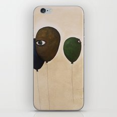 fly high wide eyes iPhone Skin