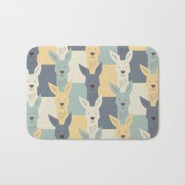 Kangaroos Bath Mat