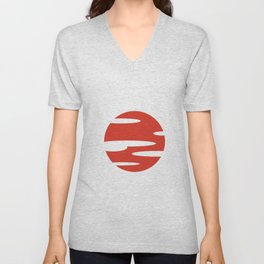 Samurai Champloo- Sunset Unisex V-Neck