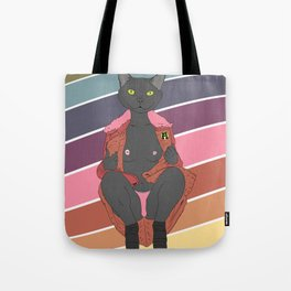 For the women who are cats  Tote Bag