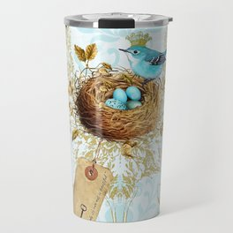 My nest is beautiful Travel Mug