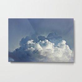 Big Clouds III Metal Print
