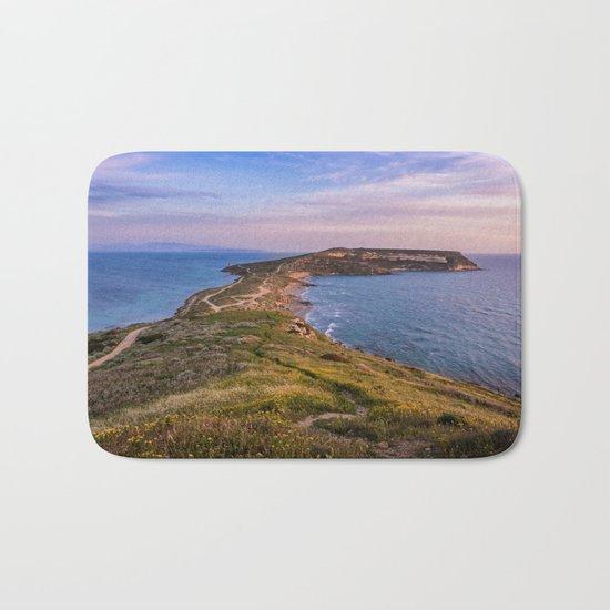 Landscape ocean 5 Bath Mat