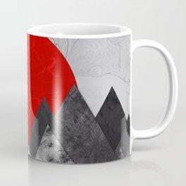 Ink Sunrise Coffee Mug