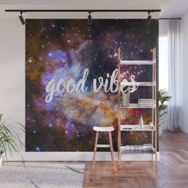 Good Vibes Hubble Space Photo Carina Star Cluster Wall Mural