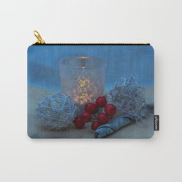 Candle- Christmas image Carry-All Pouch