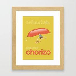 Chorizo Framed Art Print