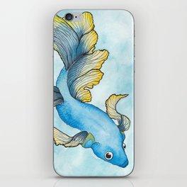 Fighting Fish iPhone Skin