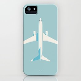 737 Passenger Jet Airliner Aircraft - Sky iPhone Case