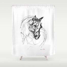 Horse (Judy) Shower Curtain