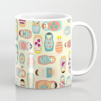 russia Mugs featuring Russia by lapenche