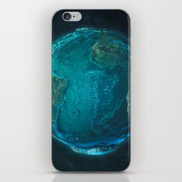 Globe: Relief Atlantic iPhone Skin