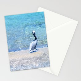 Strutting Pelican Stationery Cards