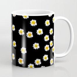 Daisy Cute Face Floral Coffee Mug