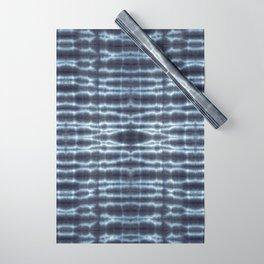 Linen Shibori Stripes Wrapping Paper