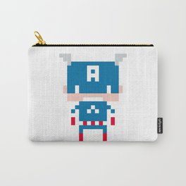Pixel Captain America Carry-All Pouch
