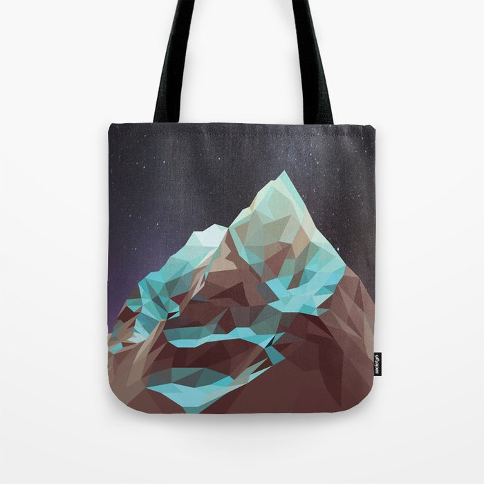 Night Mountains No. 5 Tote Bag