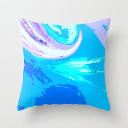 Abstract Untitled Creation by Robert S. Lee Throw Pillow
