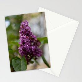 Fresh Purple Lilac Stationery Cards