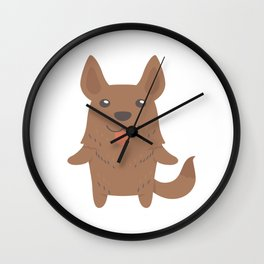 Dutch Shepherd Dog Gift Idea Wall Clock