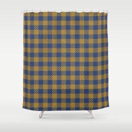 Abercrombie, Alpine, Resolution Blue, Camel, Plaid Shower Curtain