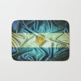 Argentina flag. Bath Mat