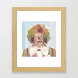 Tinkle Face the Magic Clown Framed Art Print