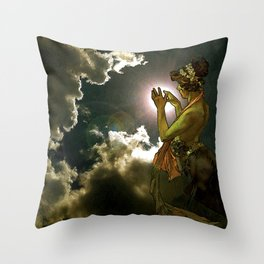 Remains of the Day Throw Pillow