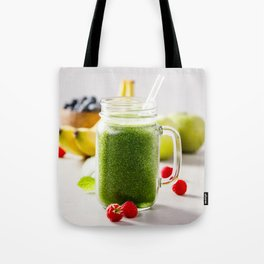 green smoothie Tote Bag