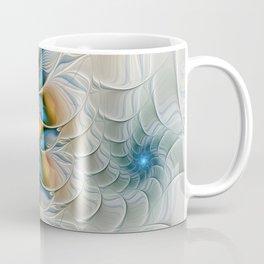Soaring, Abstract Fractal Art Coffee Mug