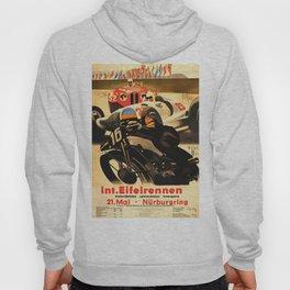 Nurburgring Race, vintage poster Hoody