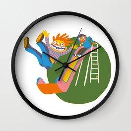 The Slide Wall Clock