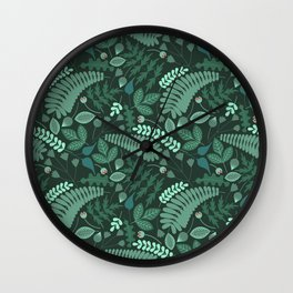Tossed 2 Wall Clock