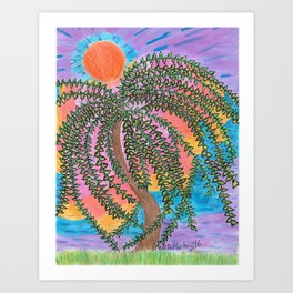 The Shade of the Day Art Print