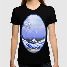 Surf's Up! The Great Wave T-shirt