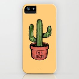 Prickly Hugger iPhone Case