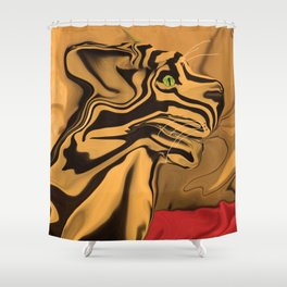 A Tiger for Tiago Shower Curtain