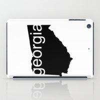 georgia iPad Cases featuring Georgia by Isabel Moreno-Garcia