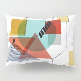 Bauhaus Kandinsky Modern Art Pillow Sham
