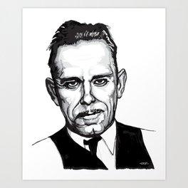 John Dillinger Mug Shot Kunstdrucke
